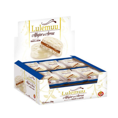 alfajor lulemmu chocolate blanco