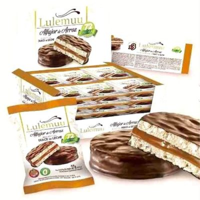 alfajor lulemuu chocolate